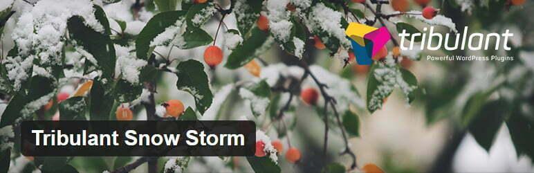 tribulant snow storm