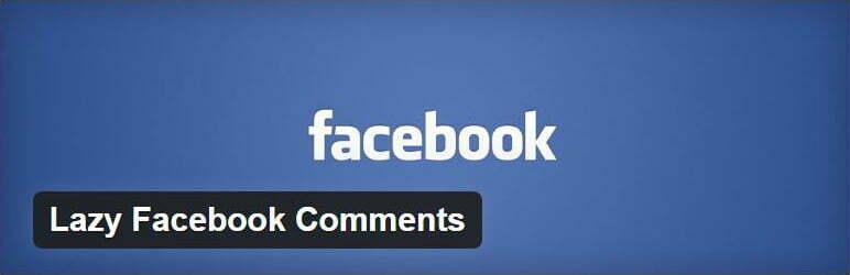 lazy facebook plugin