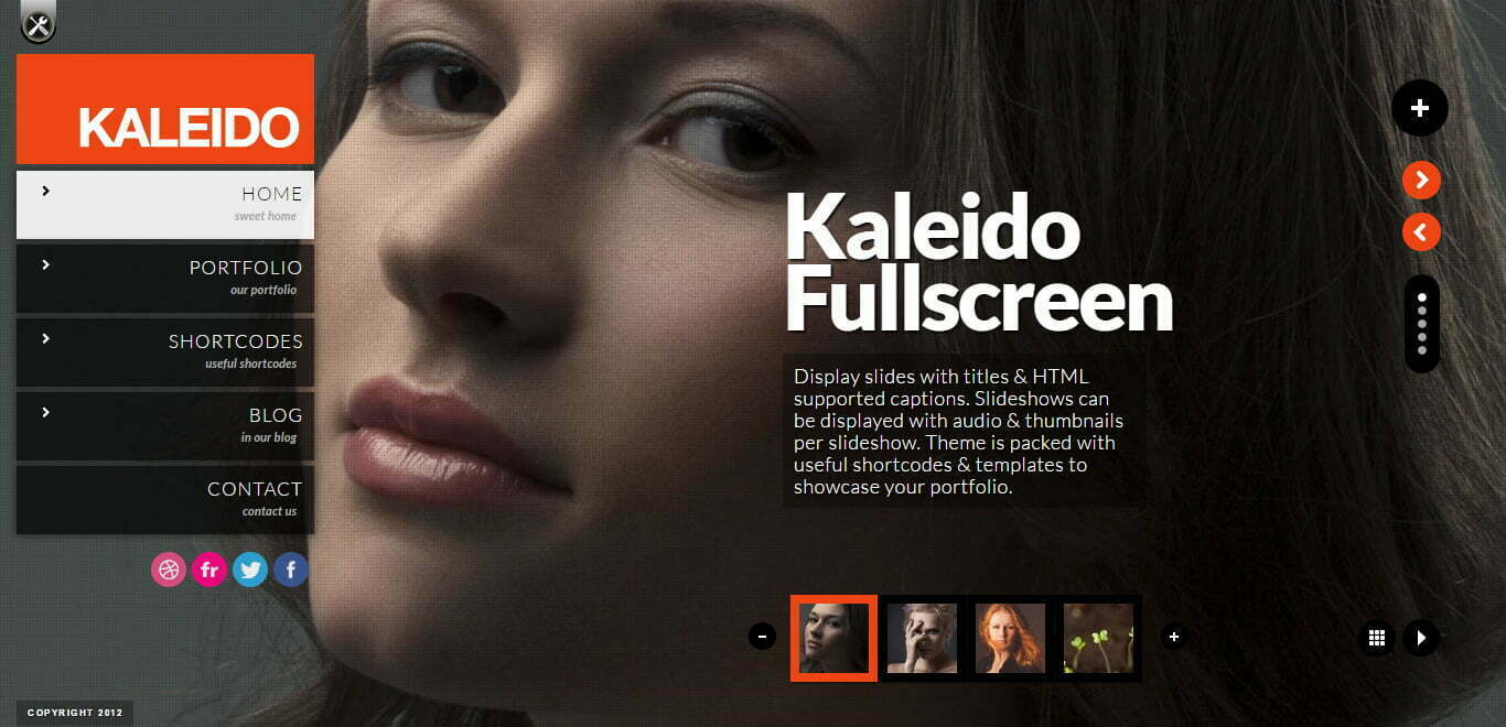 kaleido wordpress theme